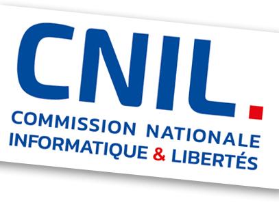 """Logo CNIL acoompagnée du texte """" Commission Nationale Informatique & Libertés"""